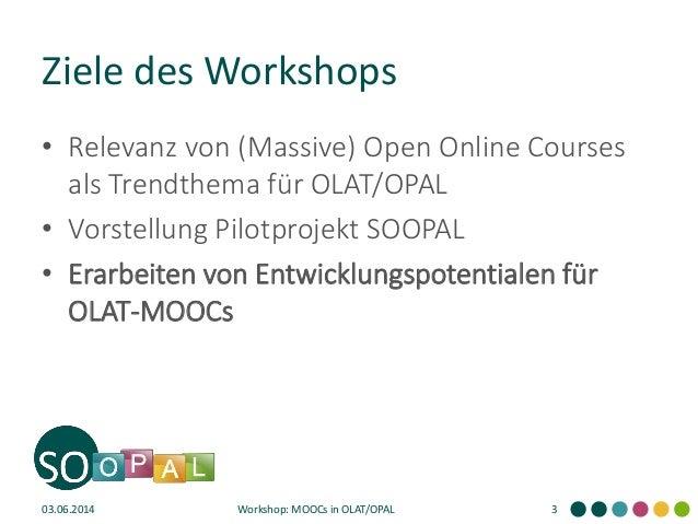 Offene Kurse und MOOCs in OLAT/OPAL Slide 3