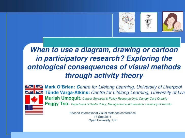 When to use a diagram, drawing or cartoon in participatory research? Exploring the ontological consequences of visual meth...