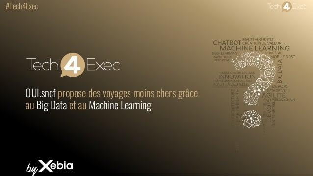 #Tech4Exec OUI.sncf propose des voyages moins chers grâce au Big Data et au Machine Learning