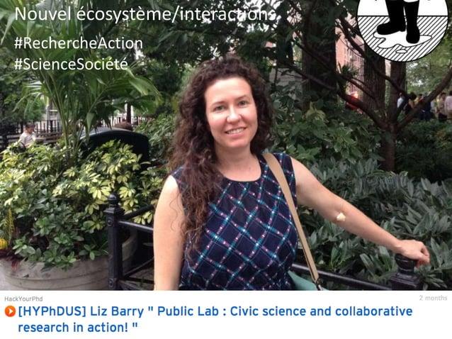 Nouvel écosystème/interactions :  #health #SocialImpact