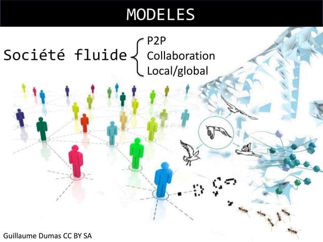 MODELES Société fluide  Guillaume Dumas CC BY SA  P2P Collaboration Local/global