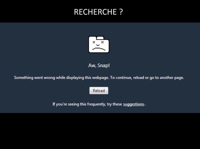RECHERCHE ?