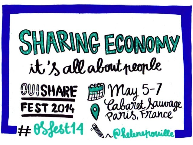 Sharing economy : it's all about people