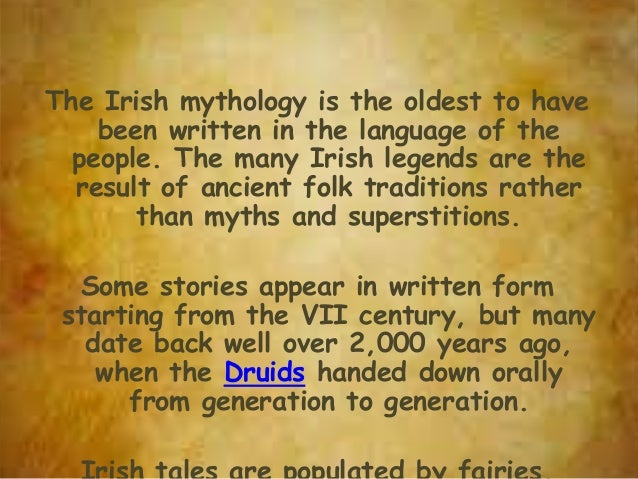 Irish Mythology - Irish legends