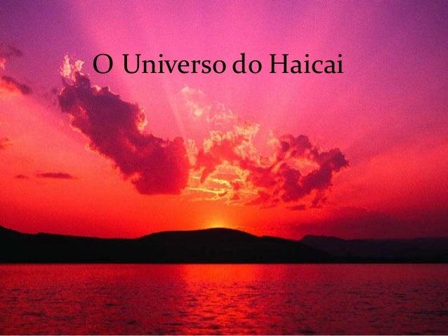 O Universo do Haicai