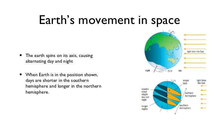 What is the Earth's motion that causes day and night?