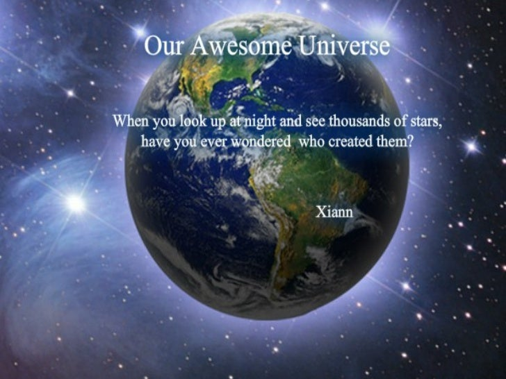 Our awesome universe galaxies