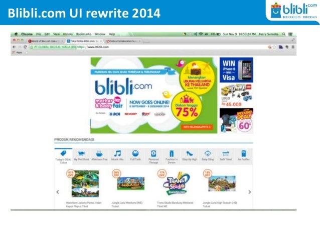 Blibli.com UI rewrite 2014