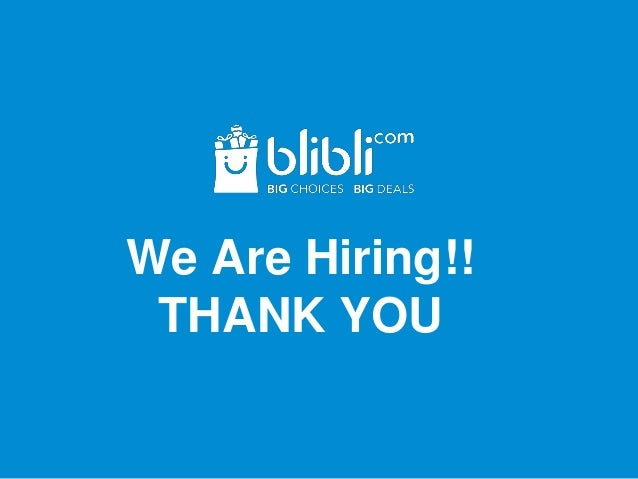 We Are Hiring!! THANK YOU