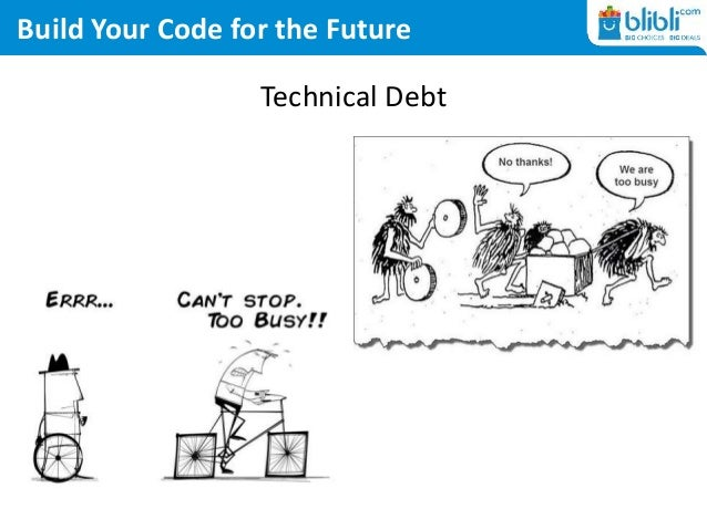 Build Your Code for the Future Technical Debt