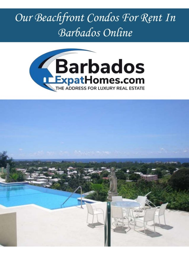 our beachfront condos for rent in barbados online