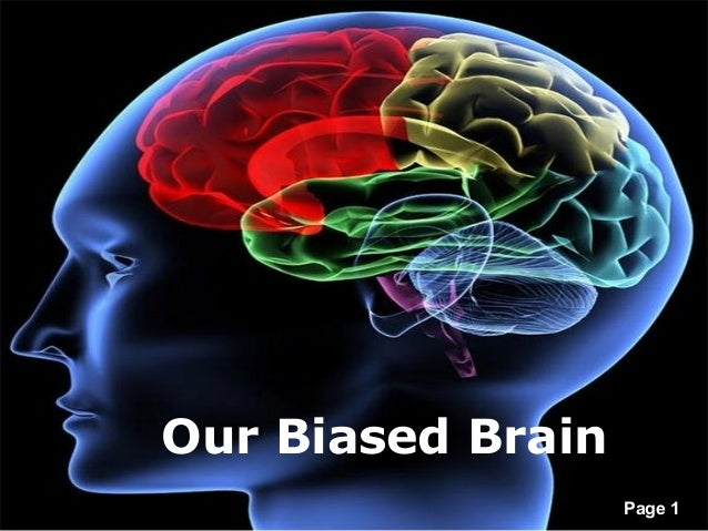 Our biased brain our biased brain free powerpoint templates page toneelgroepblik Image collections