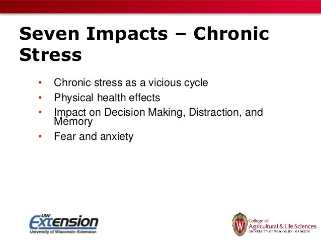 effect of stress on decision