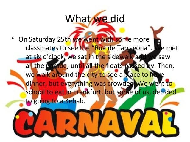 Our carnival Slide 2