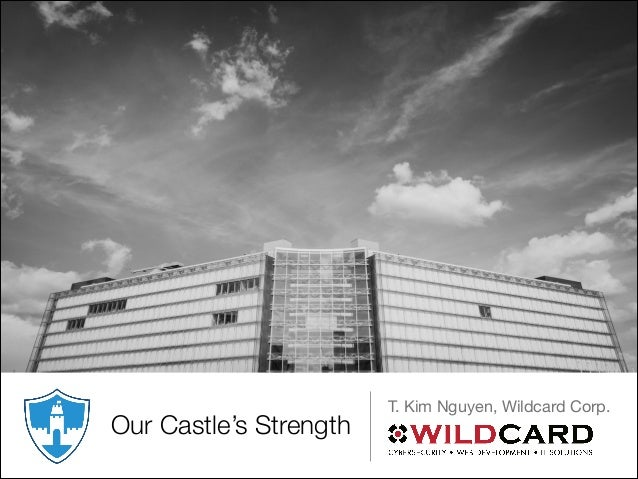 Our Castle's Strength T. Kim Nguyen, Wildcard Corp.