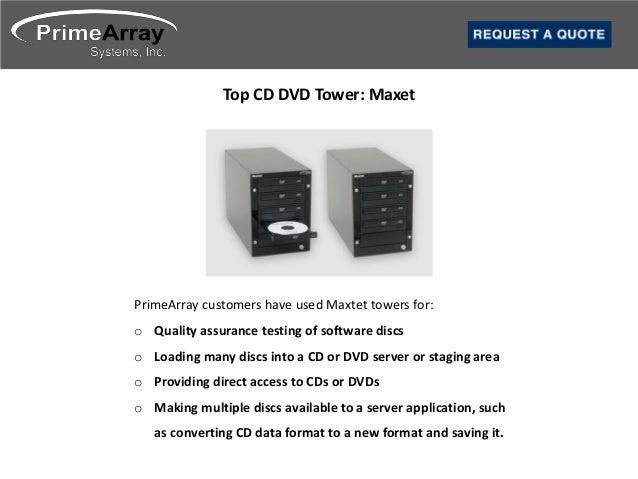 3. Top CD DVD Tower: ...