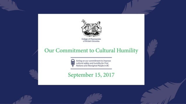 The College of Pharmacists of BC acknowledges and thanks the Coast Salish People on whose traditional territories we are g...