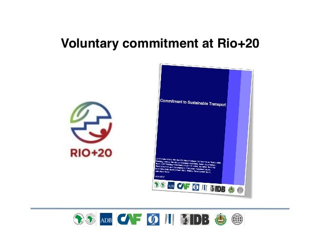 Our Commitment to Sustainable Transport - Progress since Rio+20 - Tyrrell Duncan - Asian Development Bank - Transforming Transportation 2014 - EMBARQ The World Bank Slide 3