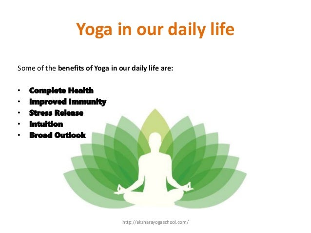 Benefits Of Yoga In Our Daily Life
