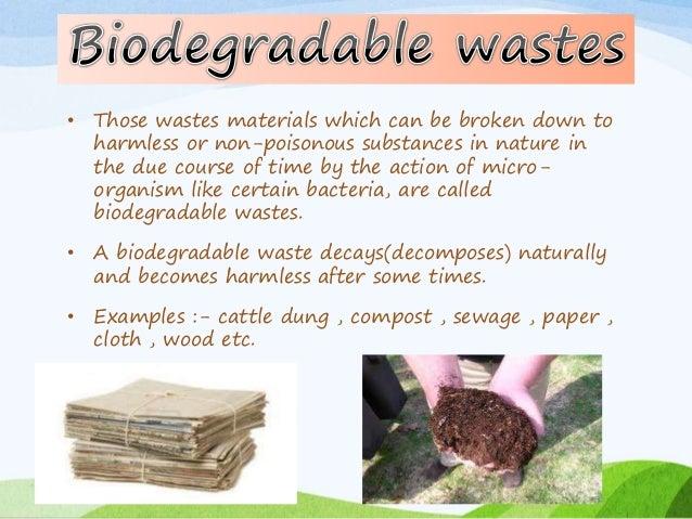 Biodegradable materials, biodegradable gargoors and fishnets, idm7.