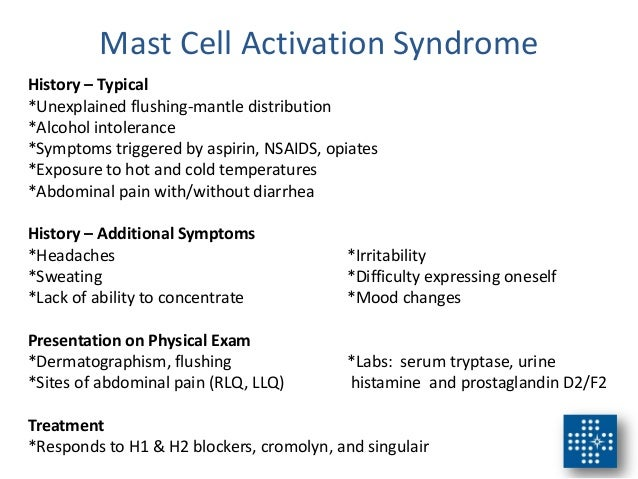 Mast Cell Activation Syndrome - indianxilus