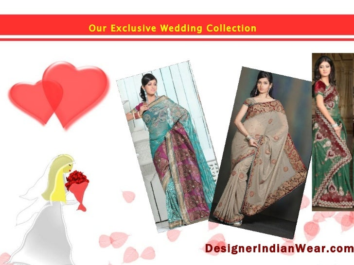 Our Exclusive Wedding Collection   DesignerIndianWear.com