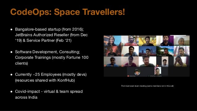 Our Experiences Lifting Off Into JetBrains Space Slide 2