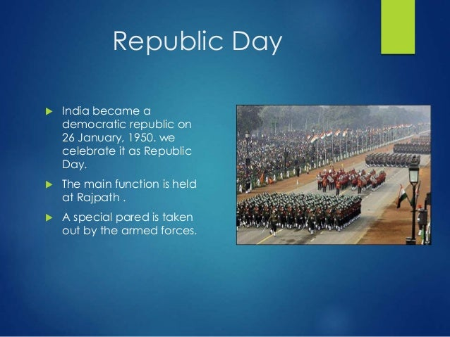 why we celebrate republic day in india