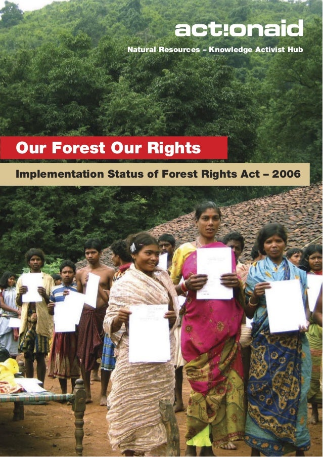 Natural Resources – Knowledge Activist HubOur Forest Our RightsImplementation Status of Forest Rights Act – 2006          ...