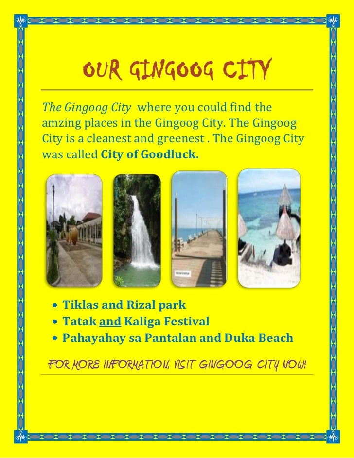 Our Gingoog City<br />The Gingoog City  where you could find the amzing places in the Gingoog City. The Gingoog City is a ...