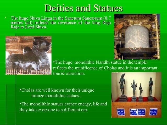 Deities and StatuesDeities and Statues  The huge Shiva Linga in the Sanctum Sanctorum (8.7The huge Shiva Linga in the San...