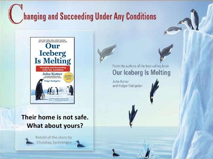 Iceberg is melting