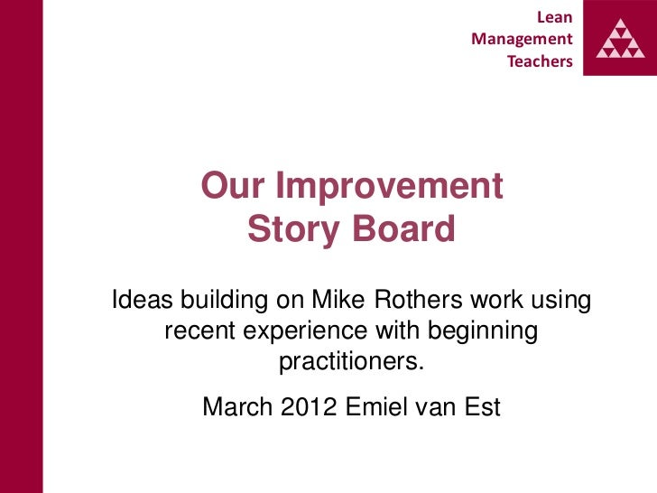 Lean                              Management                                 Teachers       Our Improvement         Story ...