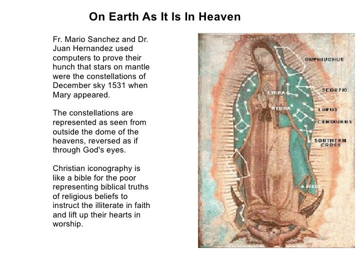 Our Lady Of Guadalupe An Icon Of Life Love And The New Evangelizati