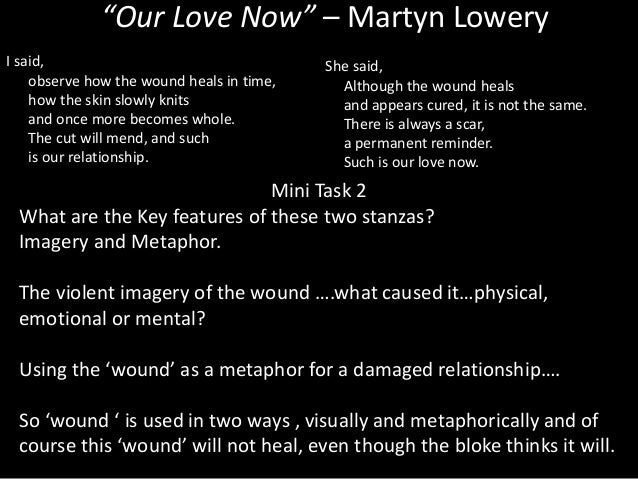 Martyn lowery our love now