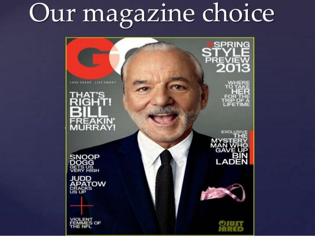 Our magazine choice  {