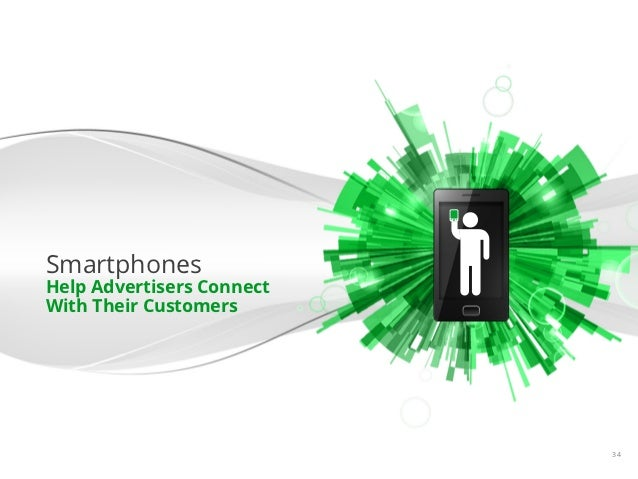SmartphonesHelp Advertisers ConnectWith Their Customers                           Google Confidential and Proprietary   34