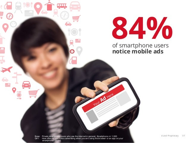84%                                                                              of smartphone users                      ...