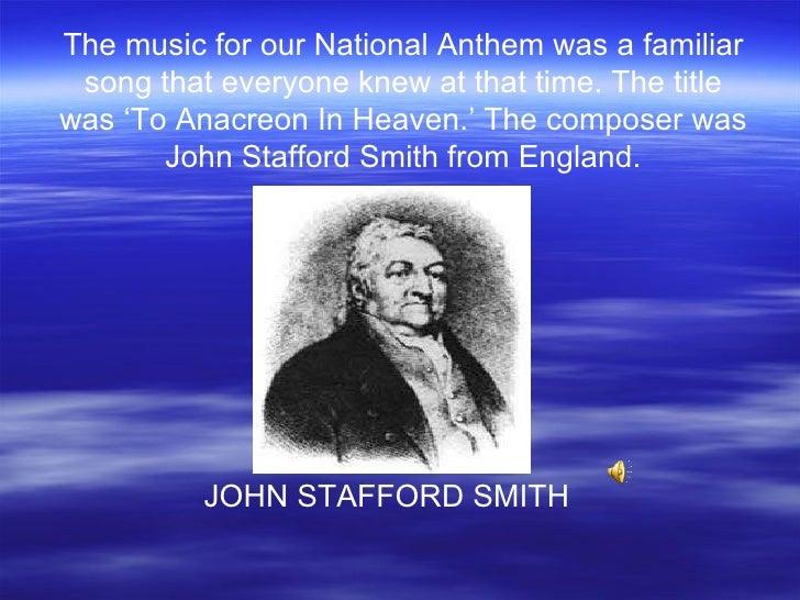 Our national anthem (song) Slide 2