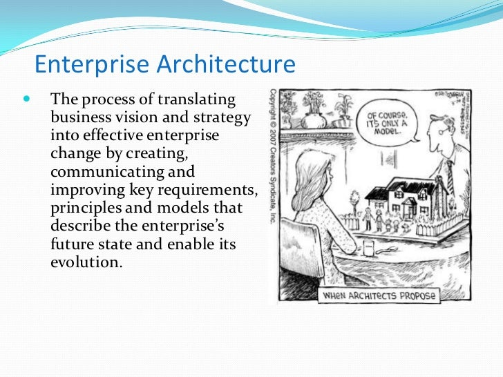 erp and enterprise architecture