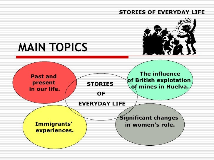 MAIN TOPICS STORIES OF EVERYDAY LIFE Past and  present  in our life. The influence of British explotation  of mines in Hue...