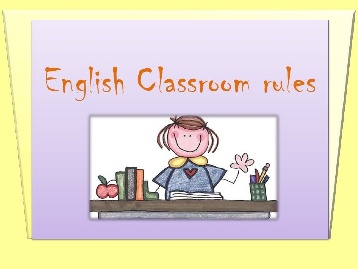 English Classroom rules<br />