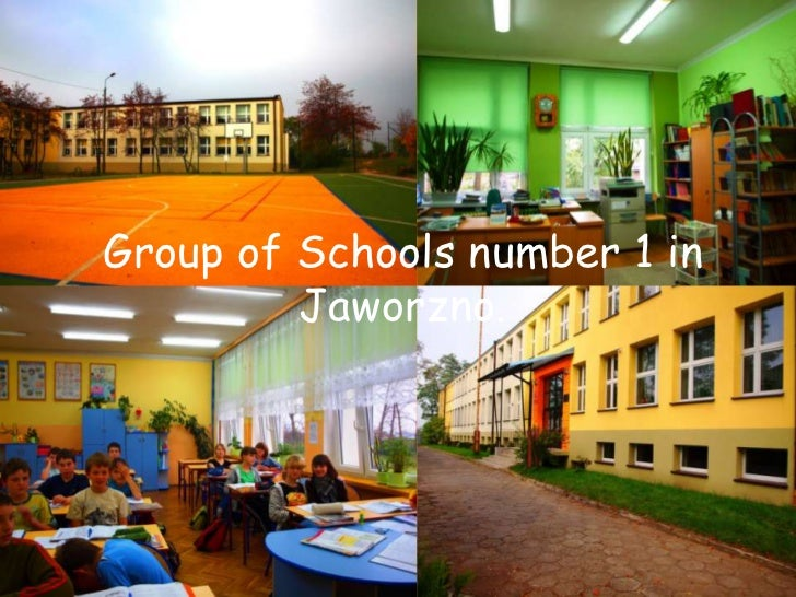 Group of Schoolsnumber 1 in Jaworzno. <br />