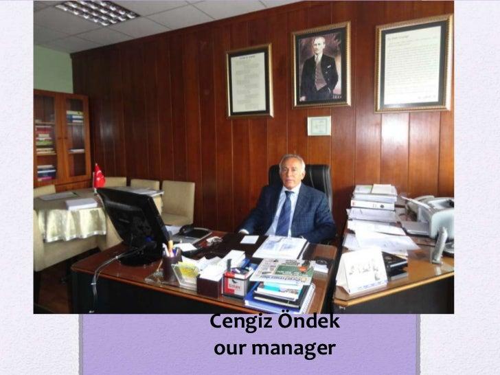 Cengiz Öndekour manager
