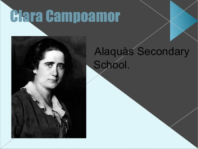 Clara Campoamor           Alaquàs Secondary           School.