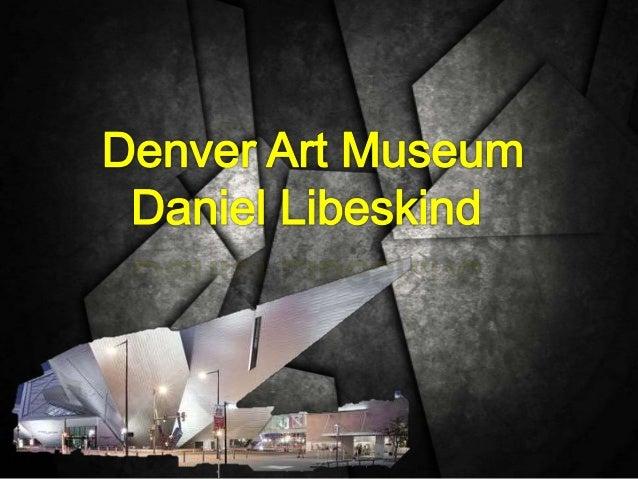 Denver art museum for Denver art museum concept