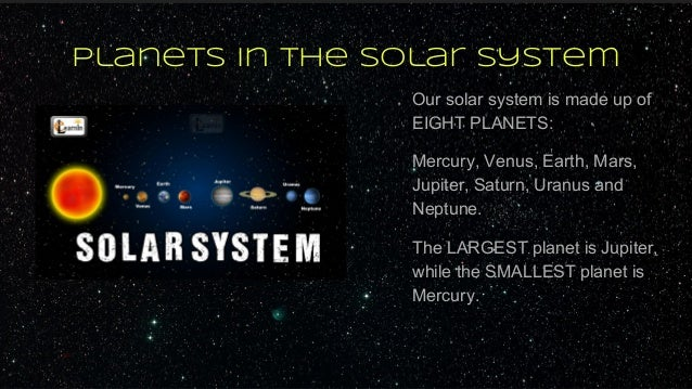 what makes our solar system - photo #9