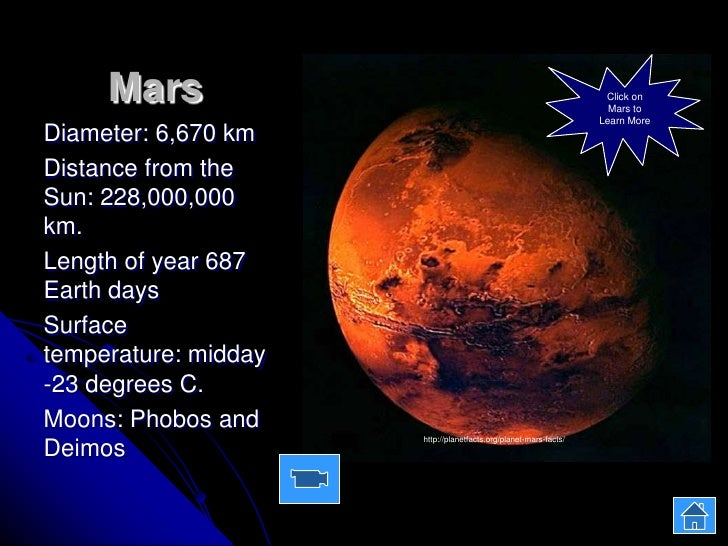 An overview of mars a planet in the solar system