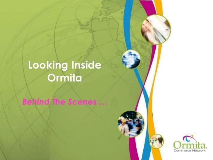 Looking Inside Ormita Behind The Scenes …