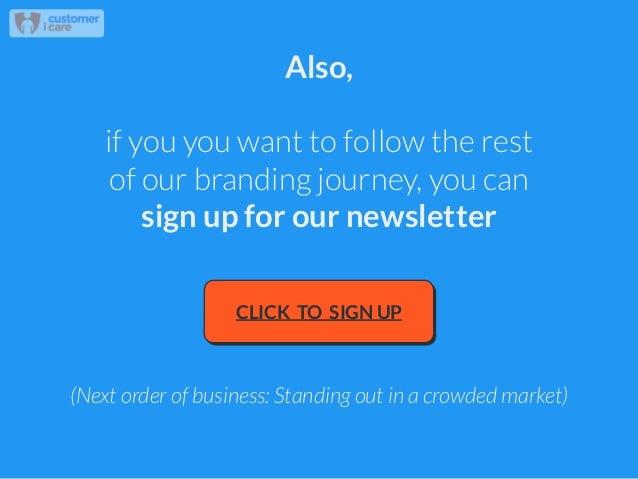 Also, ! if you you want to follow the rest of our branding journey, you can sign up for our newsletter CLICK TO SIGN UP (N...